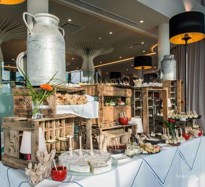 Buffet Fromage Soirée Entreprise Epicurium