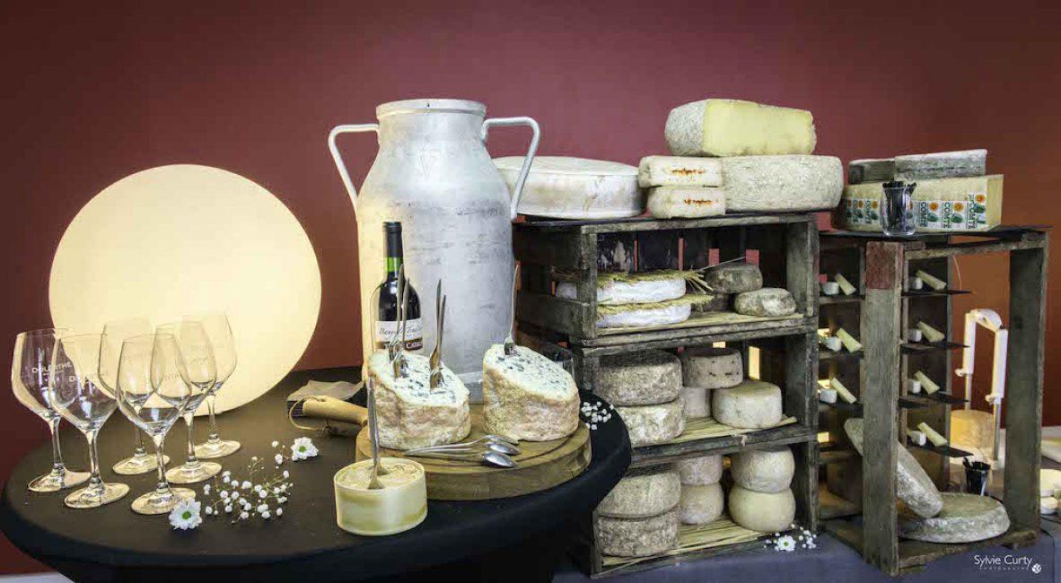 Buffet fromages fromagerie l'épicurium La Rochelle (49)