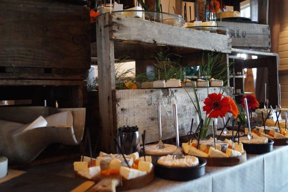 Buffet fromages fromagerie l'épicurium La Rochelle (82)