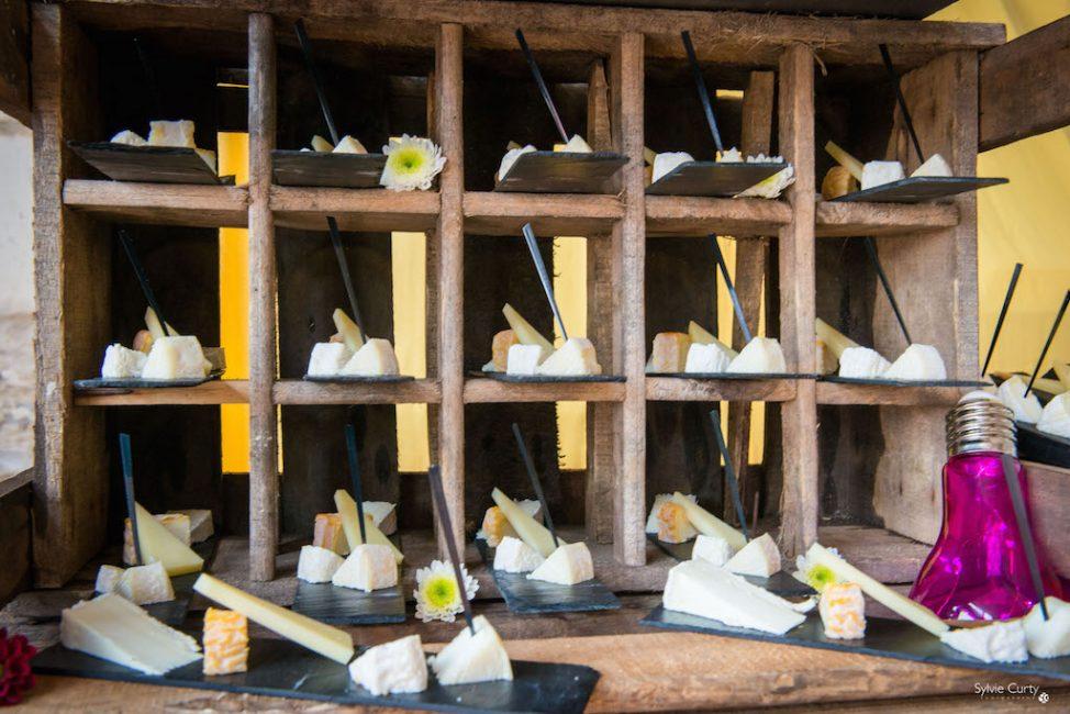 Buffet fromages fromagerie l'épicurium La Rochelle (83)