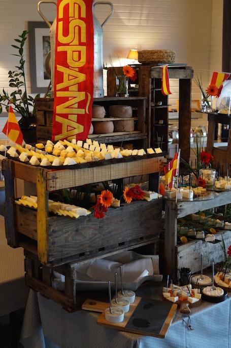 Buffet fromages fromagerie l'épicurium La Rochelle (67)