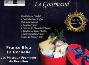 Emission France Bleu La Rochelle - Plateau de fromages du Réveillon